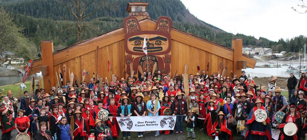 Rededication shakes tribal house rises again wrangell for Best tribal house