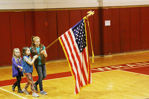 Veterans Day recognized at high school