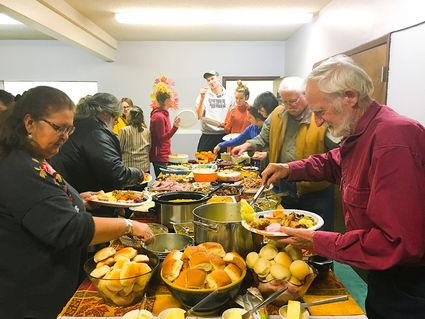 Thanksgiving Dinner Hosted At Harbor Light Church Wrangell Sentinel